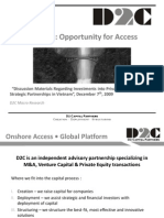 D2C Opportunity for Access Final