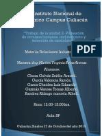 Trabajo de la unidad 2- Planeación de Recursos Humanos, Reclutamiento y Selección de Candidatos.docx