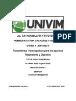 MEAvila_Tratamientos  Homeopáticos para los aparatos Respiratorio y Digestivo.docx