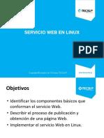 Presentación 02 - Servicio Web en Linux