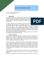 HACIA UNA CULTURA DE EVALUACION.doc
