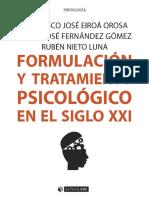 Formulación y tratamiento psicológico en el siglo XXI - Francisco José Eiroa Orosa.pdf