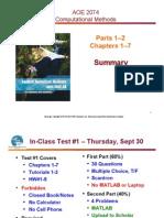 6 Parts 1-2 Summary