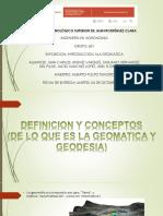 GEOMATICA Y GEODESIA.pptx