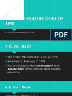 PHILIPPINE FISHERIES CODE OF 1998.pptx