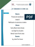 Procesos de manufactura - Unidad 6.docx