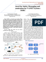 A Novel Protocol for Safety Messaging and Secure Communication for VANET System