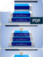 How to Create Corporate Ladder, Success, Growth, Ranking Presentation Slide in Microsoft Office PowerPoint PPT