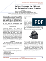 Pedestrian Safety - Exploring the Different Applications for Pedestrian Sensing Detection