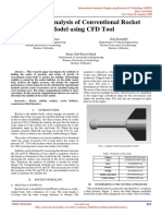 Stability Analysis of Conventional Rocket Model using CFD Tool