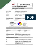 MSDS ACEITE PARA TRANSMISION AUTOMATICA.pdf