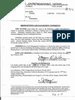 Order Setting Case Management Conference - Writ of Mandamus Exhibit P-9
