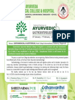 National Seminar on Ayurvedic gasteroenterology_ 8 x 8 invitation