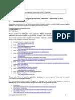 Master application information