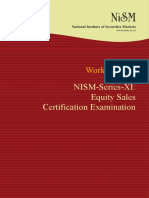 NISM-Series-XI-Equity Sales Certification Workbook