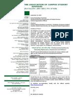 3rd PACSA International Conference Invitation Letter v.2