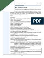 Ley de Presupuestos Aragón Para 2020