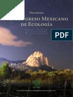 VII Congreso Mexicano de Ecología - 2019