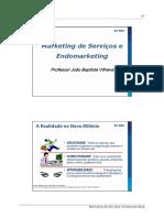 02 Marketing de Serviços e Endomarketing - JB Vilhena - 2019.ppt [Modo de Compatibilidade]
