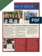 Alpha Xi Delta Winter 09 Edition