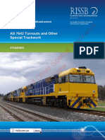 As 7642(2013) - Turnouts and Other Special Trackwork