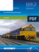 As 7636(2013) - Railway Structures