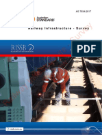 As 7634(2017) - Railway Infrastructure - Survey
