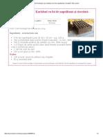 Tort Pischinger sau Karlsbad cu foi de napolitană și ciocolată - fără coacere