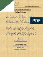 Kaligrafi Uslub Diwani