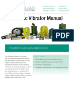 Cleveland Vibrator English - Pneumatics Installation and Maintenance Manual