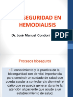 Bioseguridad en Hemodialisis