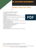 Programma Jazz Guitar Improvisation