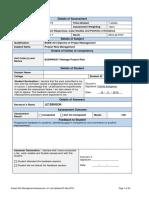 Assessment I - Project Risk Management