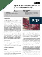06-CIRUGÍA DE LAS METÁSTASIS NO COLORRECTALES NO NEUROENDOCRINAS