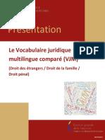 2-1_FR_Vocabulaire juridique multilingue compare - VJM