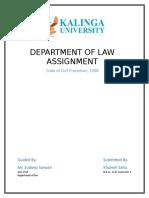 Analyze Order XIX of Code of Civil Procedure, 1908.
