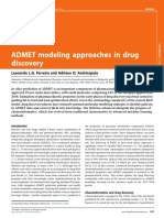 ADMET modeling approaches in drug discovery