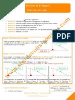 theoreme-de-pythagore-exercices-corriges
