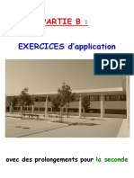 Livret MATHS 3ème seconde - Partie B EXERCICES