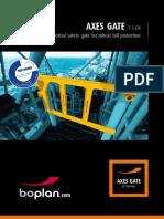 Brochure AxesGate 7.1 EN
