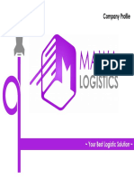 Company Profile Mawa Logistics