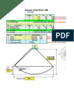 Formula Jarak Antar LNB Excel 2013 Modified by RnB
