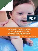 Caderneta de Saúde Da Criança Com Síndrome de Down 2014