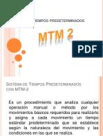 6.3. Metodos y tiempos MTM-2