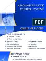 Flood Water Control