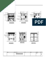 Architectural plan (duplex)