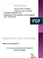 16_Behavior of Costs
