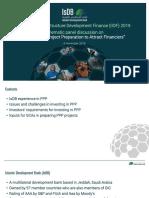 IsDB Presentation IIDF 2019 - Indonesia Proprep - 6-11-19 (1)