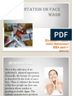 PRESENTATION ON FACE WASH.pptx