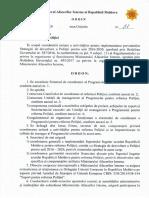 Ord.51-2020 Cu Privire La Coordonarea Unitară a Reformei Poliției